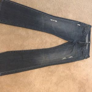 Womens 7 for all mankind low rise jeans-size 29